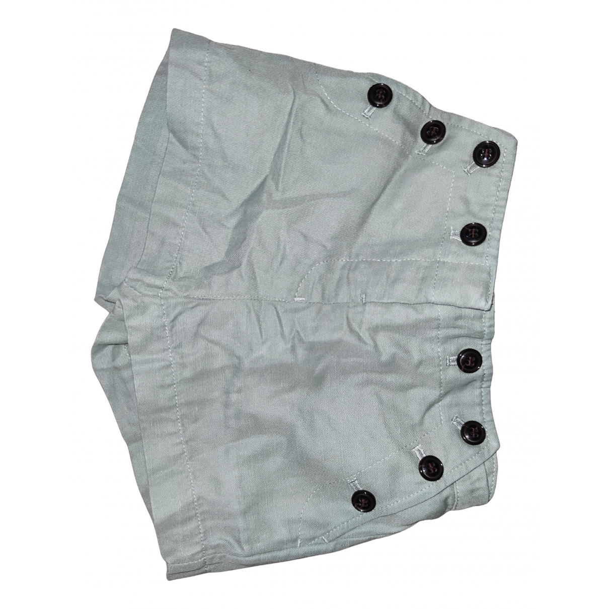 Burberry N Green Cotton Shorts for Kids 2 years - until 34 inches UK