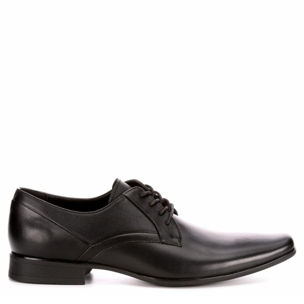 Calvin Klein Mens Benton Plain Toe Oxfords