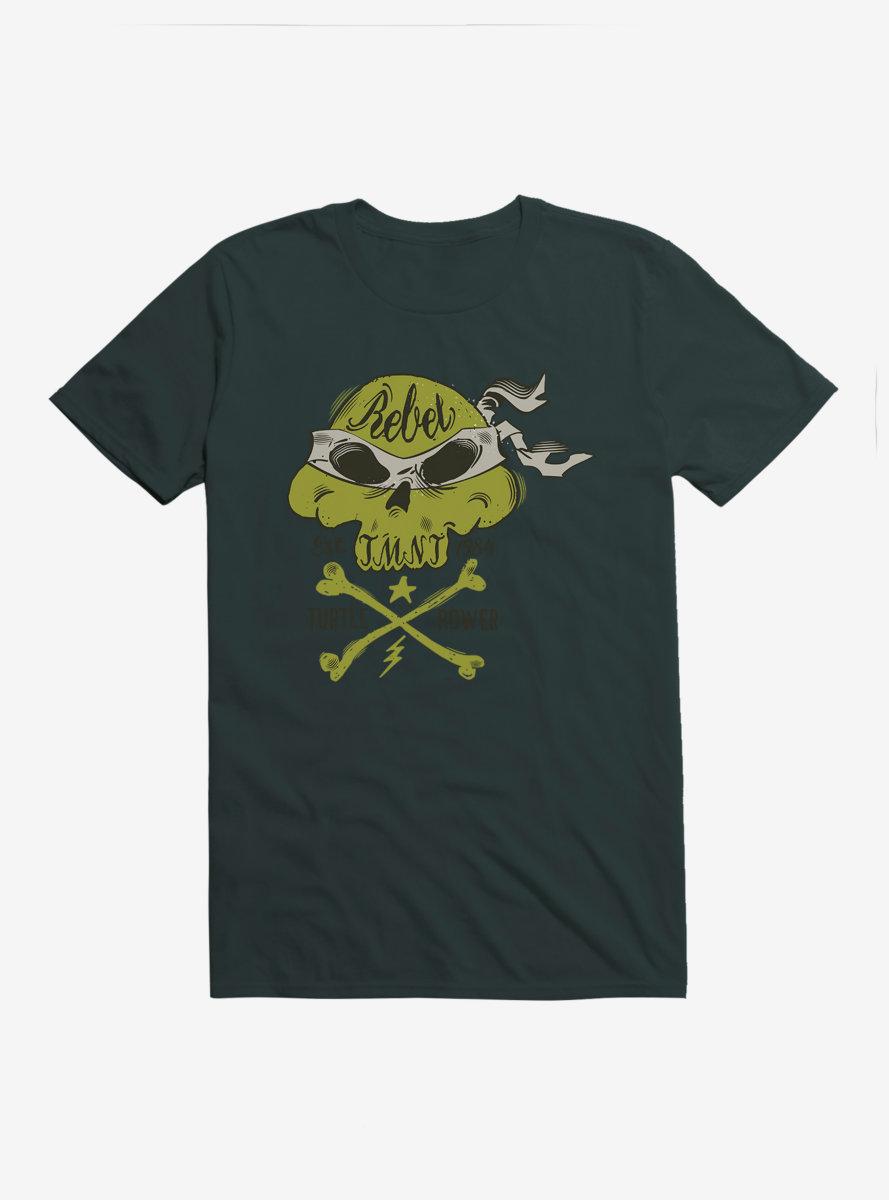 Teenage Mutant Ninja Turtles Skull Bandana T-Shirt