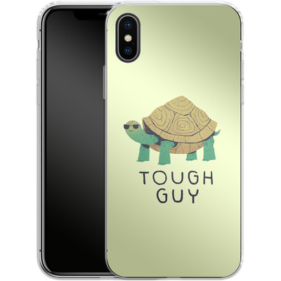 Apple iPhone X Silikon Handyhuelle - Tough Guy von Louis Ros