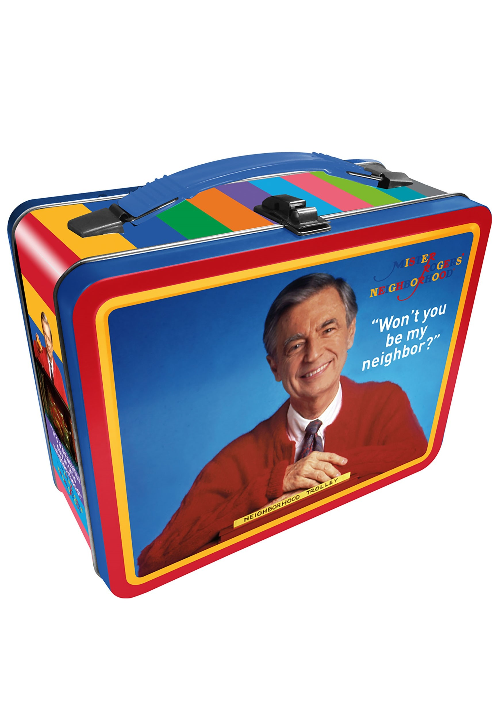 Mister Rogers-Metal PBS Lunchbox