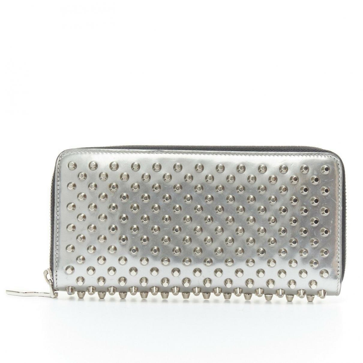 Christian Louboutin Panettone Metallic Leather wallet for Women \N