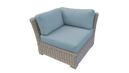 TKC038b-CS-SPA Corner Chair - Beige and Spa