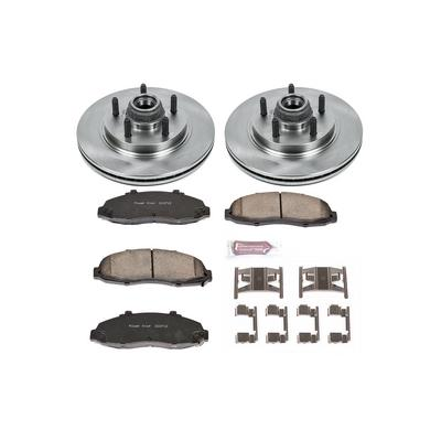 Power Stop 1-Click OE Replacement Front Brake Kits - KOE1914