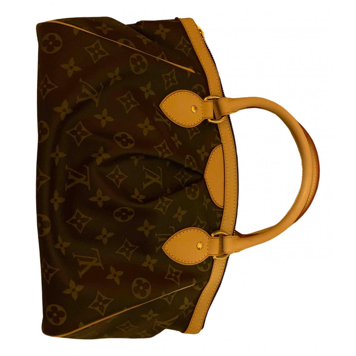 Louis Vuitton Siena Brown Cloth handbag for Women \N