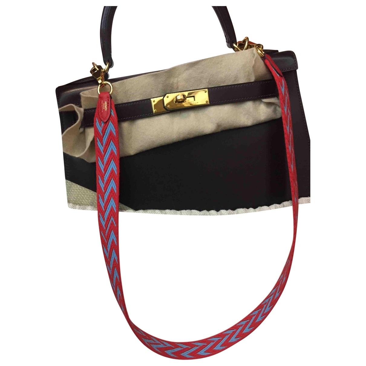 Hermès \N Red Cloth Purses, wallet & cases for Women \N