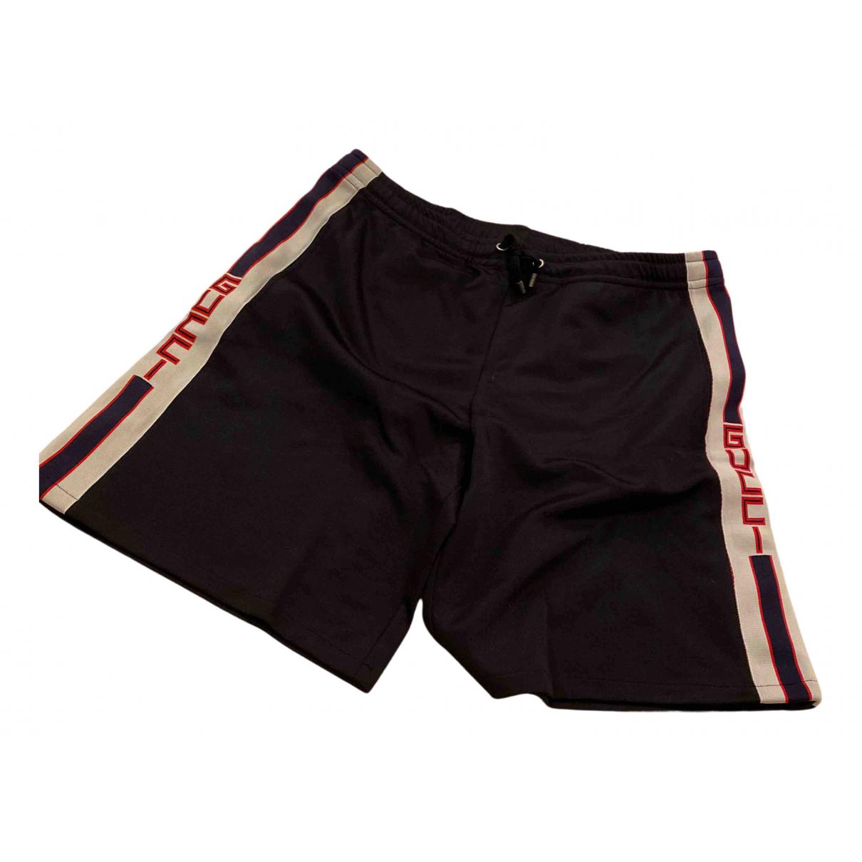 Gucci \N Shorts in  Schwarz Polyester