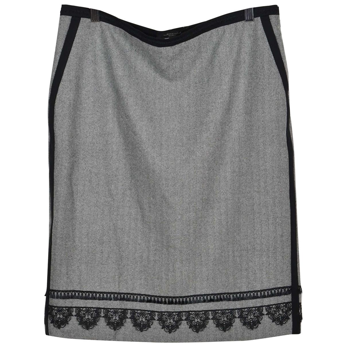 Max Mara Weekend \N Black Wool skirt for Women 48 IT