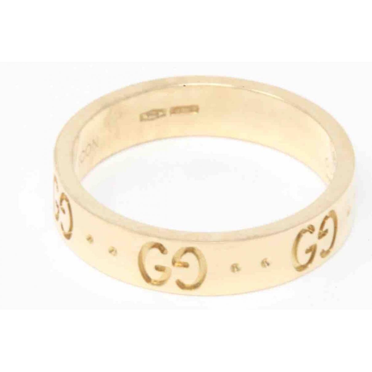 Gucci - Bague Icon pour femme en or jaune - jaune