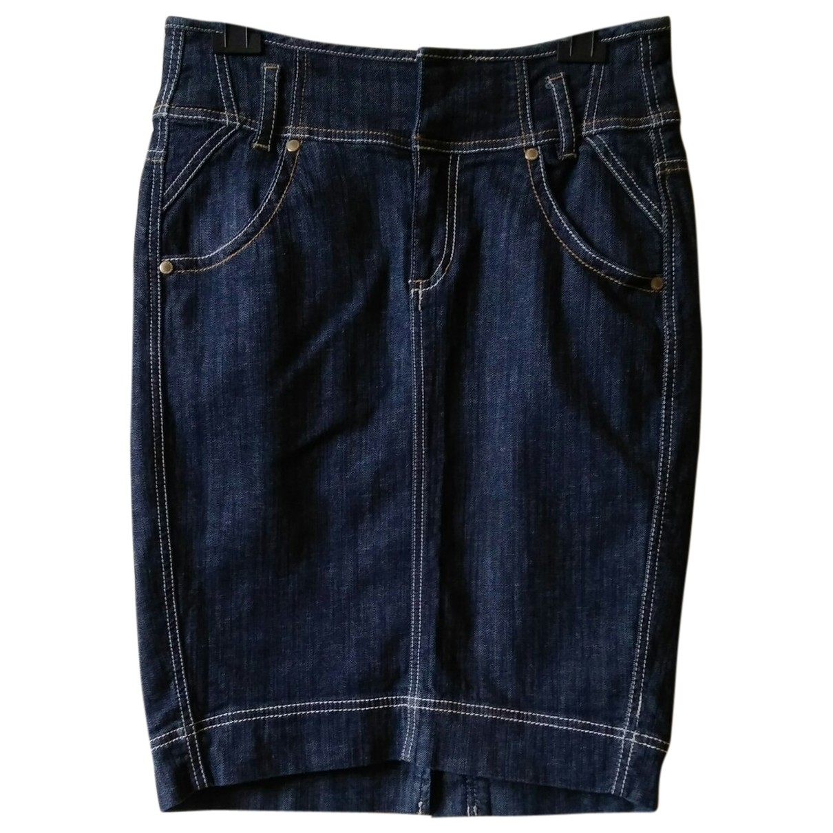Dkny \N Rocke in  Blau Denim - Jeans