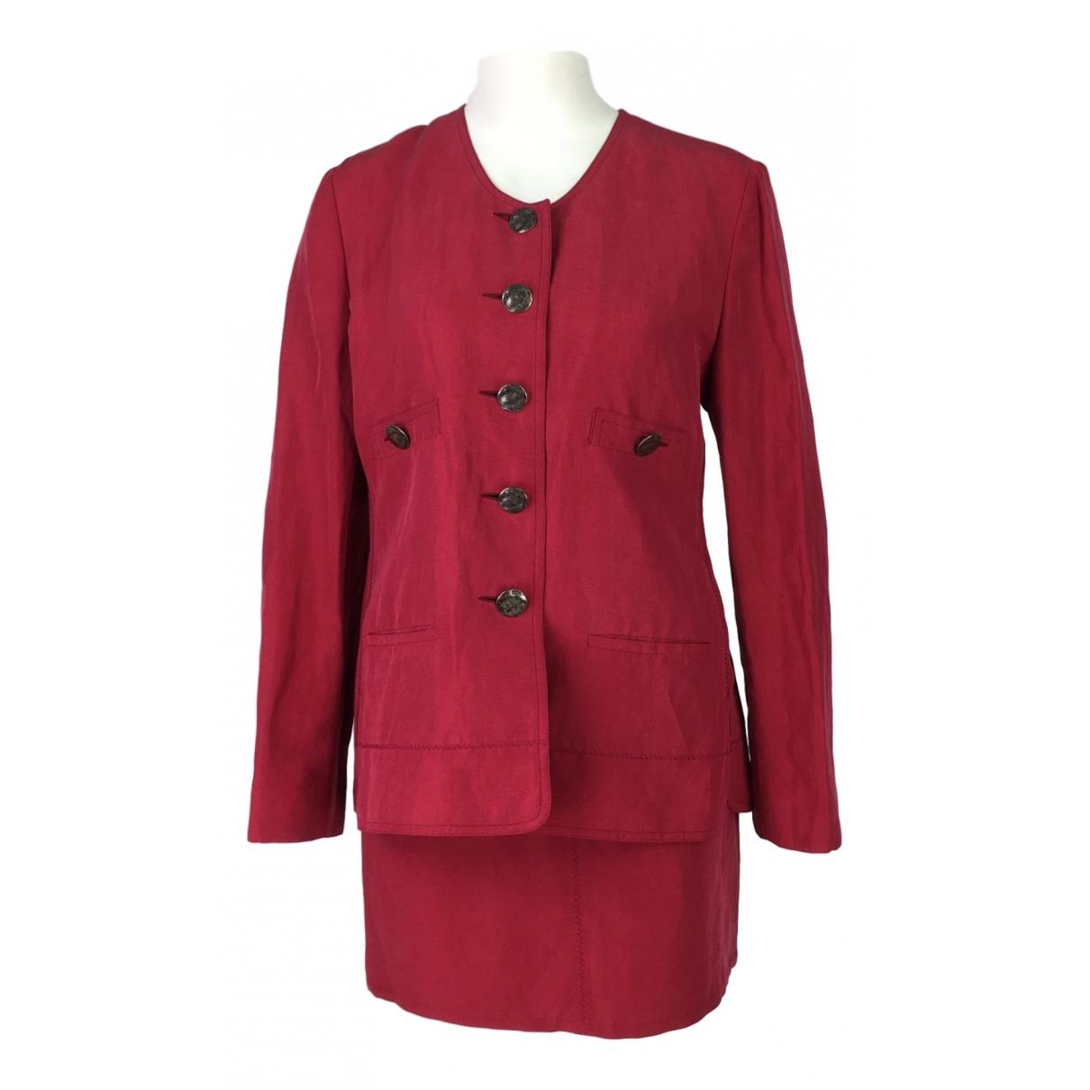 Sonia Rykiel \N Red Linen jacket for Women 42 FR