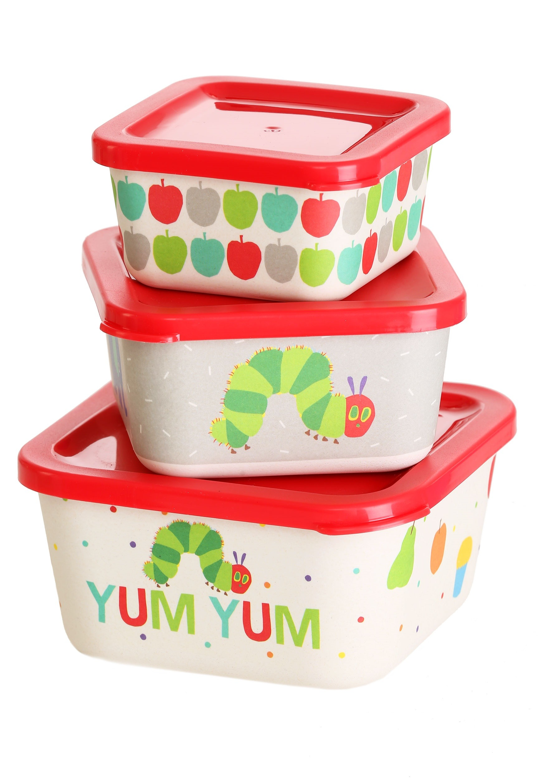 The World of Eric Carle Childrens Nesting Food Containers