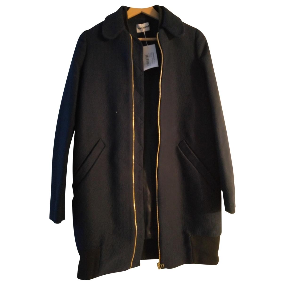 Cacharel \N Blue Cotton coat for Women 34 FR
