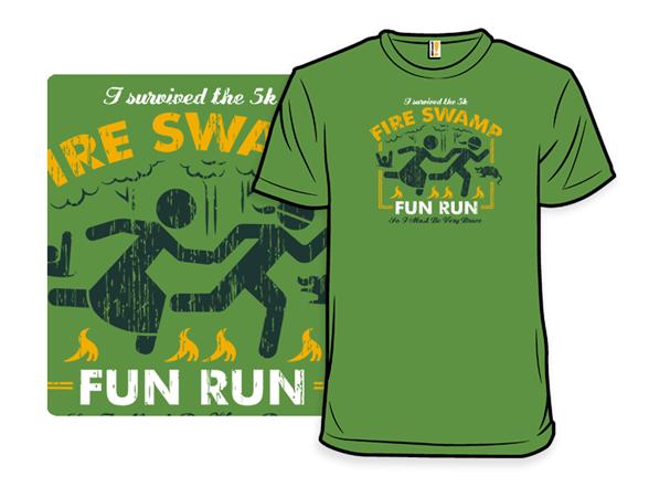 Fire Swamp Fun Run T Shirt