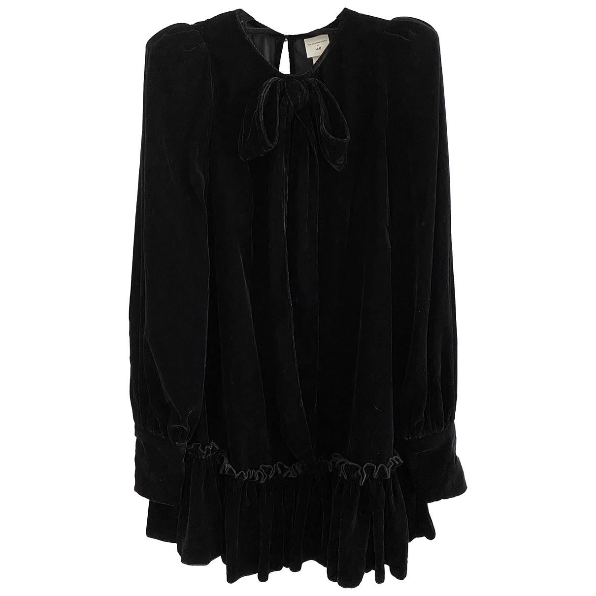The Vampires Wife X H&m \N Kleid in  Schwarz Polyester