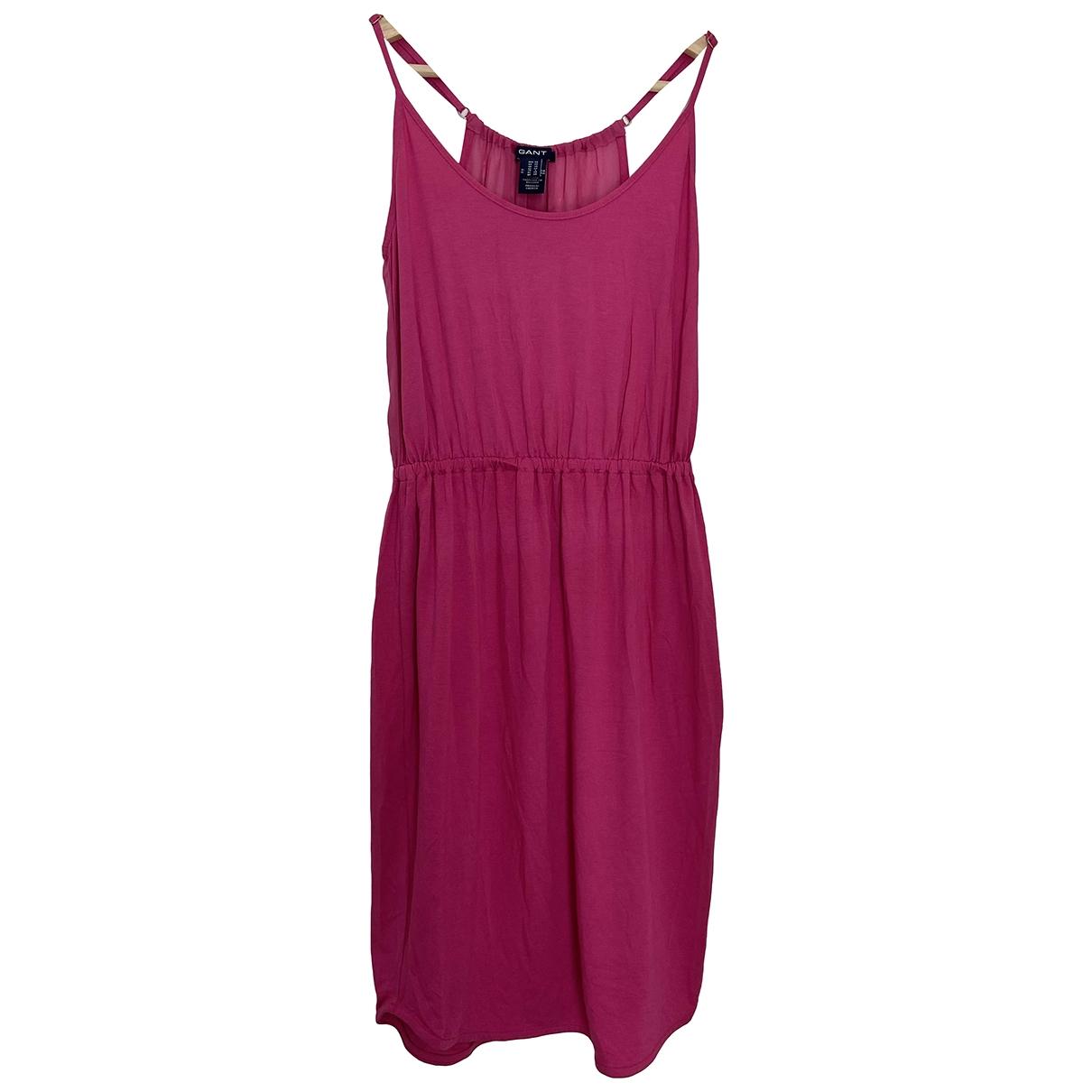 Gant Rugger \N Kleid in  Rosa Viskose