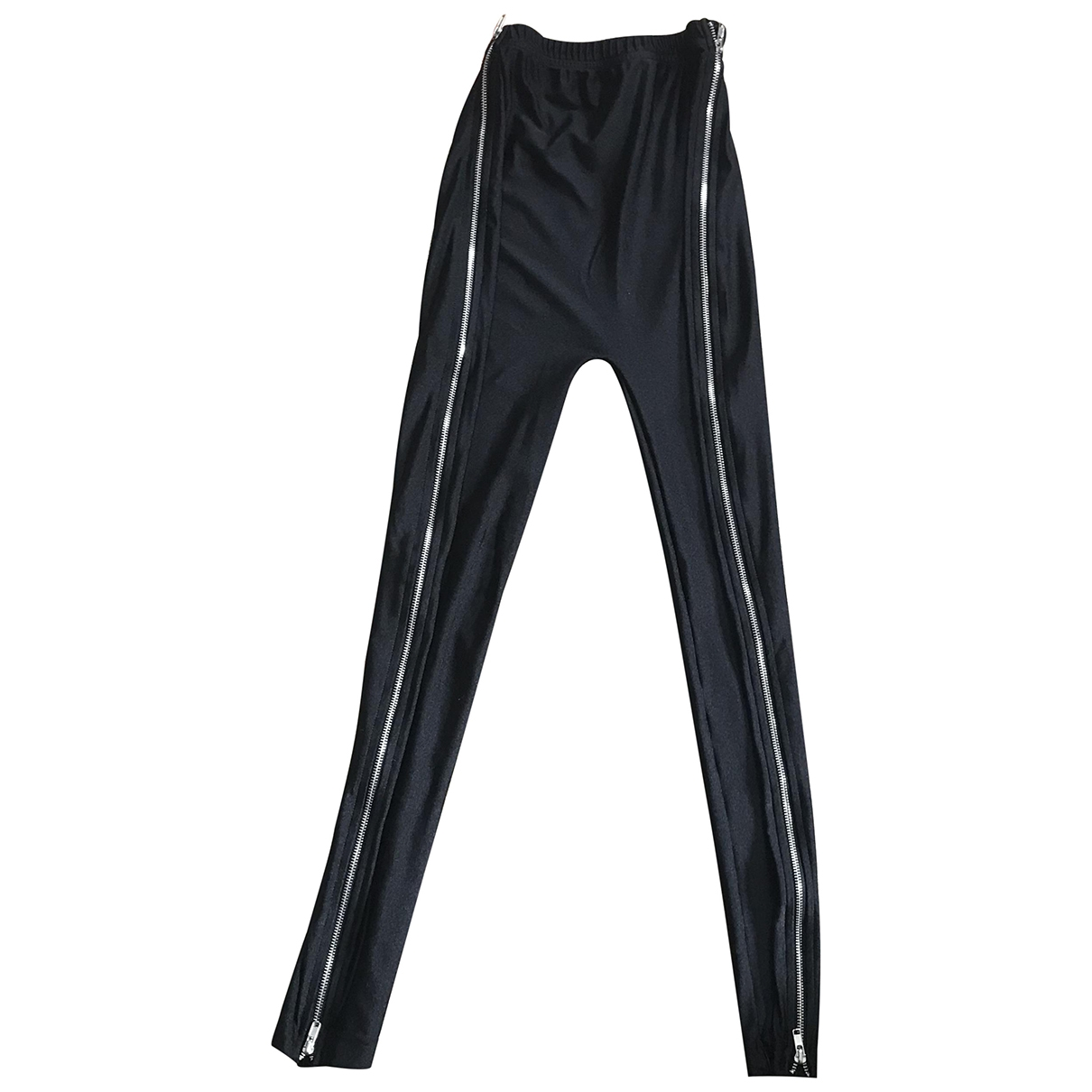 American Apparel \N Black Trousers for Women S International