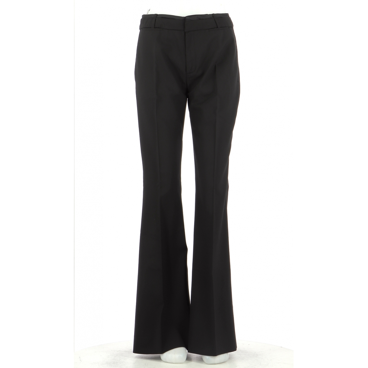 Comptoir Des Cotonniers \N Black Wool Trousers for Women 38 FR