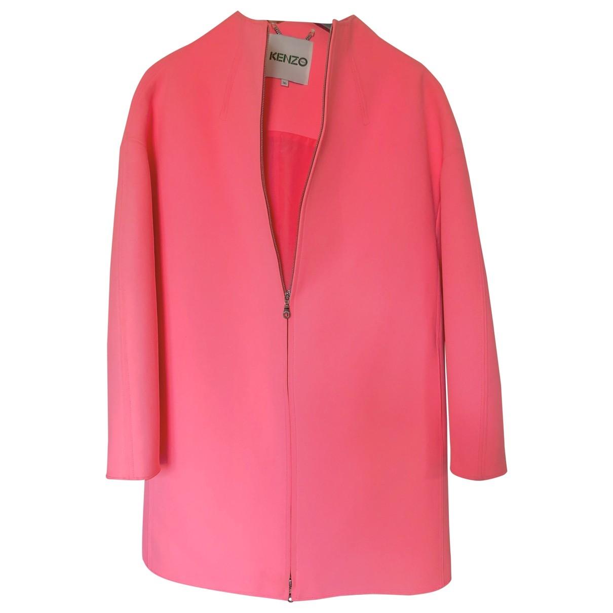 Kenzo - Manteau   pour femme - rose