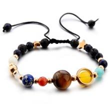 Armband mit Beads, Stern und Kordelzug
