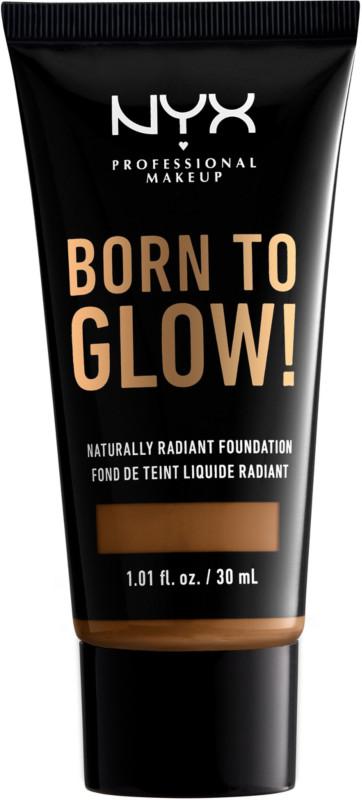 Born To Glow Naturally Radiant Foundation - Warm Mahogany (medium deep w/ warm undertone)