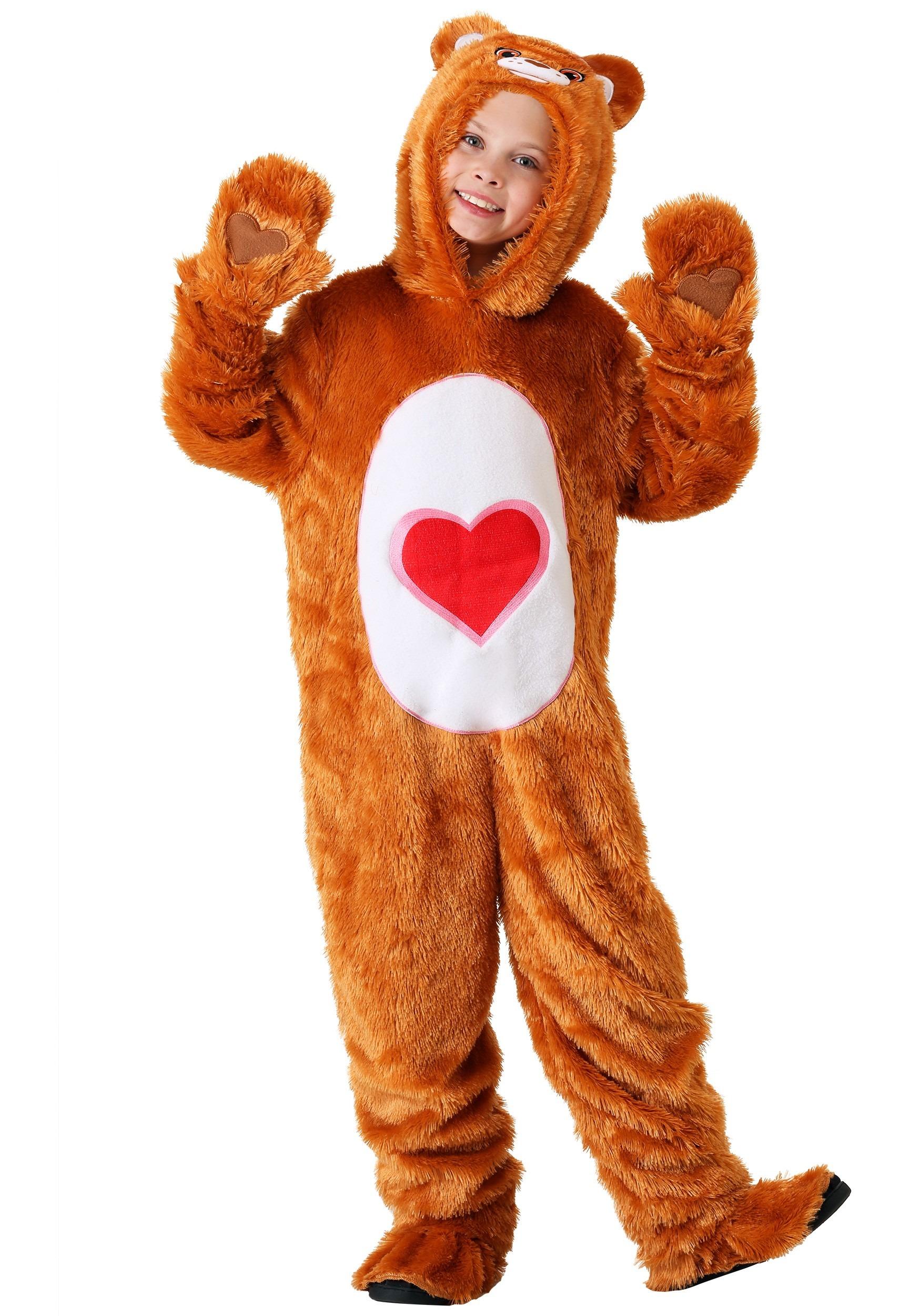 Kid's Care Bears Classic Tenderheart Bear Costume
