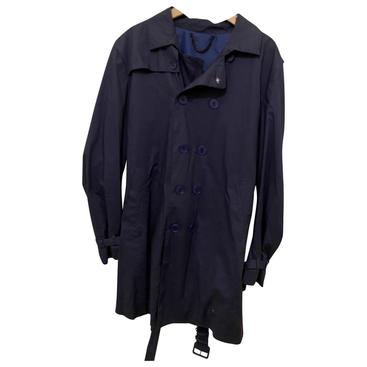 Paul Smith \N Navy Cotton coat  for Men L International