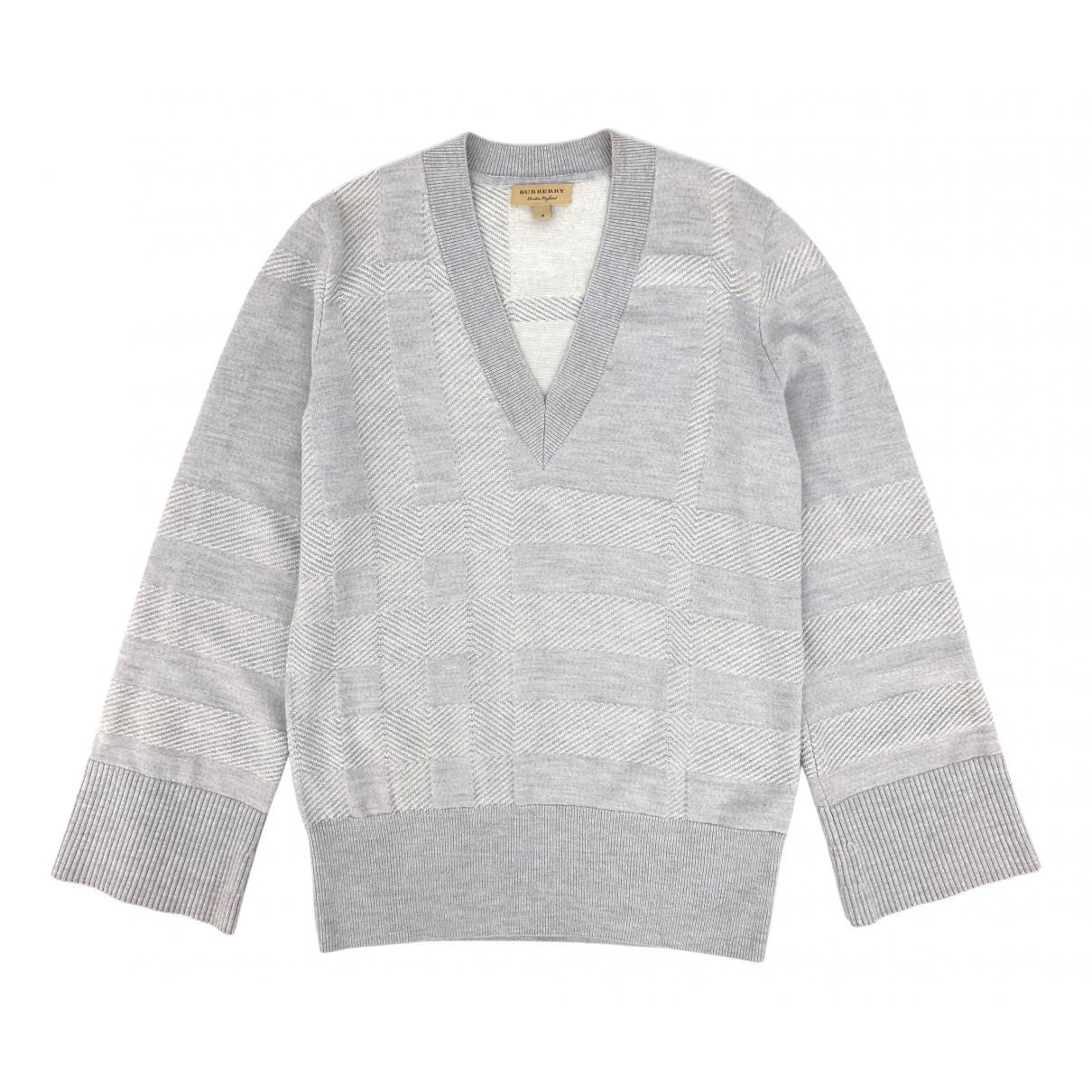 Burberry N Grey Wool Knitwear for Women M International