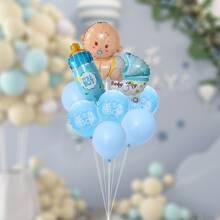 11 piezas set globo decorativo de fiesta para bebe