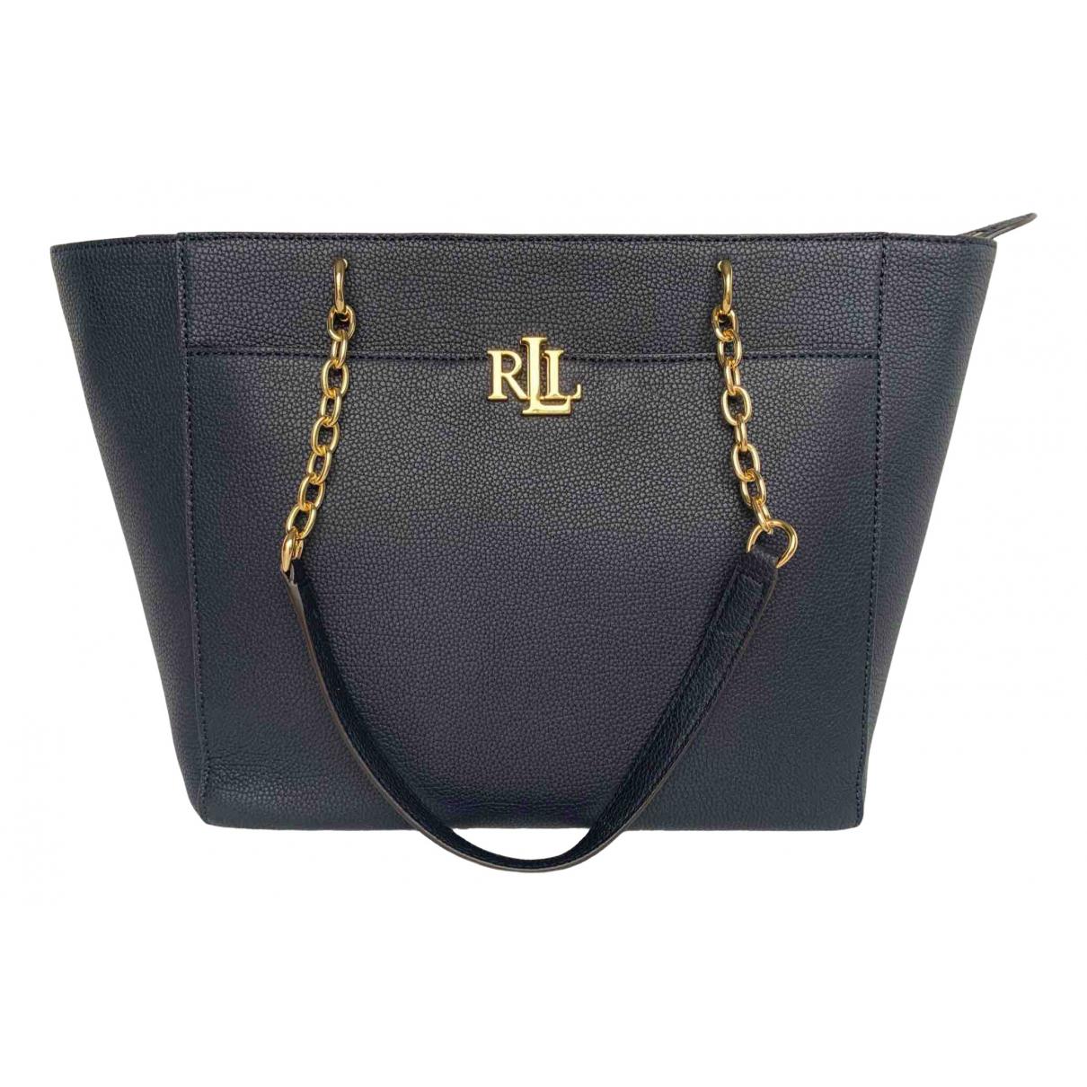 Lauren Ralph Lauren N Navy Leather handbag for Women N