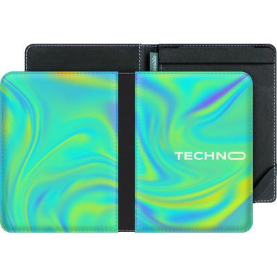 tolino vision 4 HD eBook Reader Huelle - PSYCHEDELIC GREEN von Berlin Techno Collective