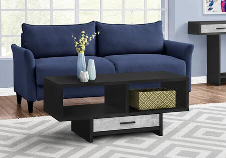 I 2810 Coffee Table - Black Grey Reclaimed