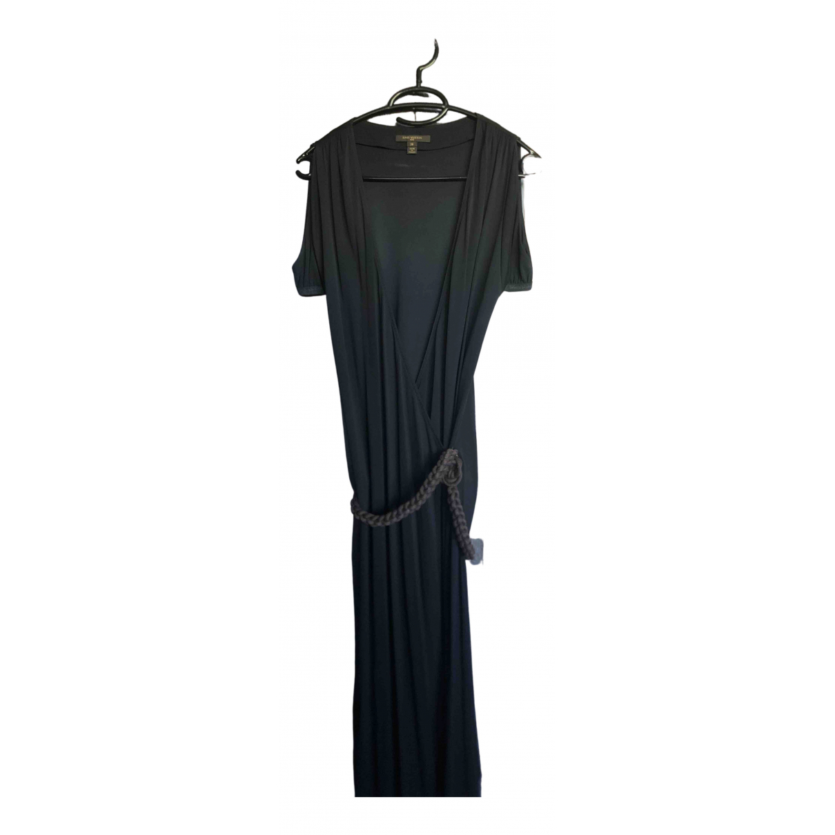 Louis Vuitton \N Kleid in  Schwarz Viskose