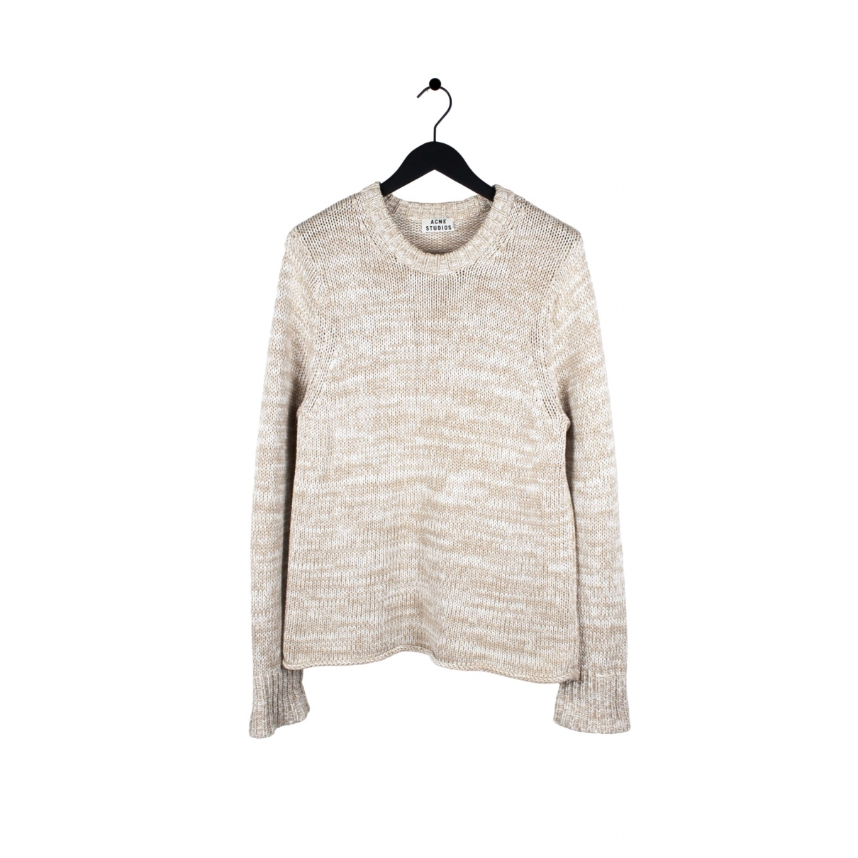Acne Studios \N Beige Cotton Knitwear & Sweatshirts for Men M International