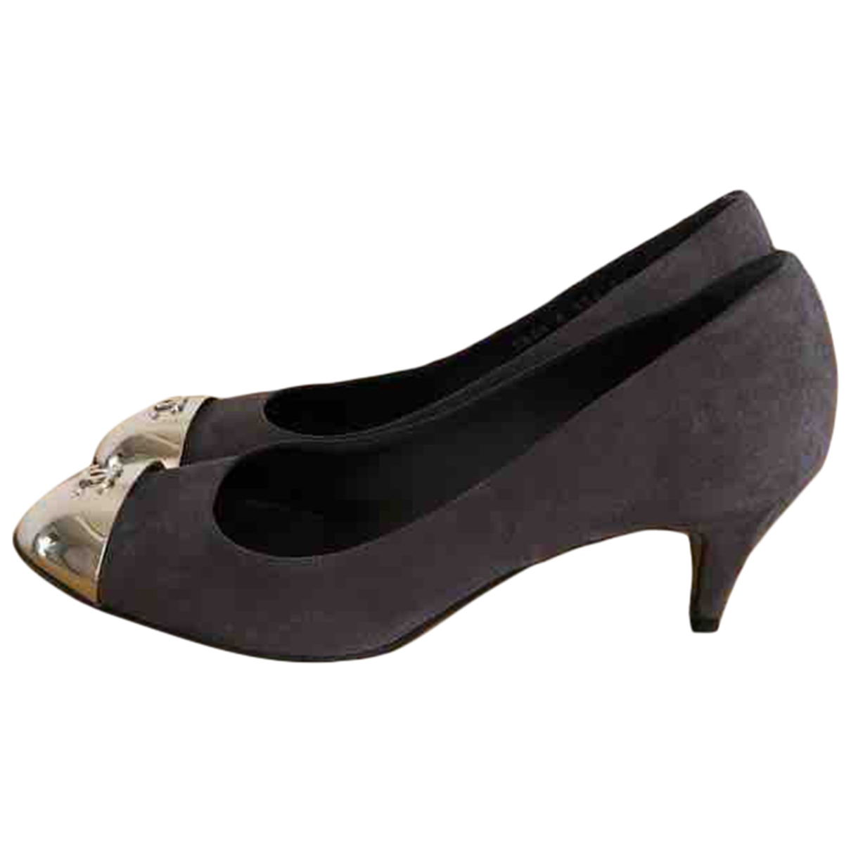 Chanel \N Grey Suede Heels for Women 39 IT