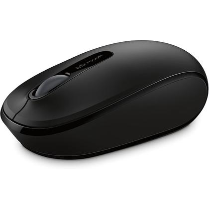 Microsoft@ Wireless Mobile Mouse 1850 - Black
