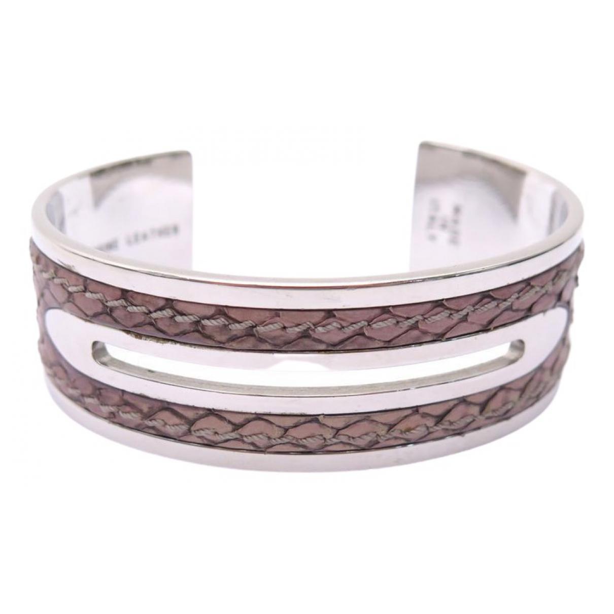 Tods - Bracelet   pour femme en acier - argente