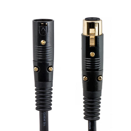 50ft Premier Series XLR M/F 16AWG Cable (Gold Plated) [Microphone & Interconnect] - PrimeCables®