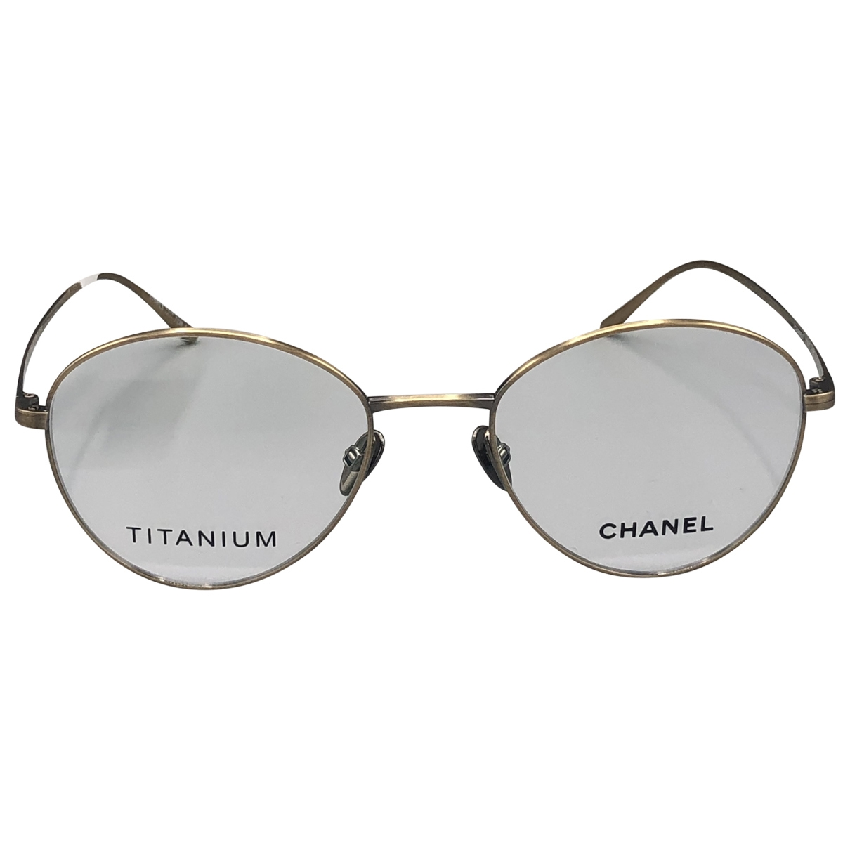 Chanel \N Sonnenbrillen in  Gold Kunststoff
