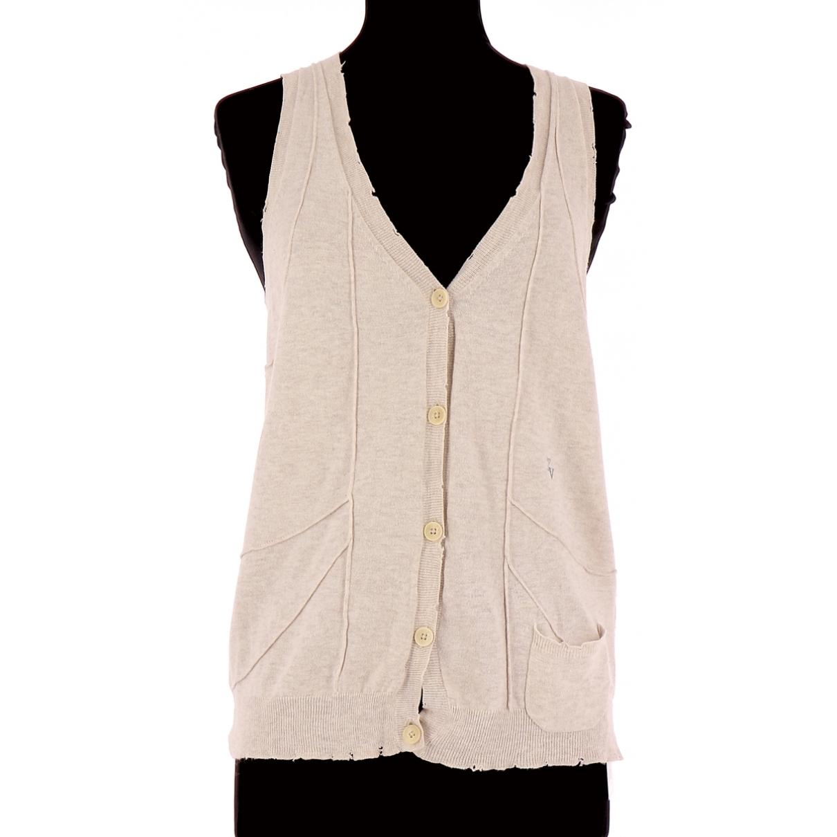 Zadig & Voltaire - Pull   pour femme en coton - beige