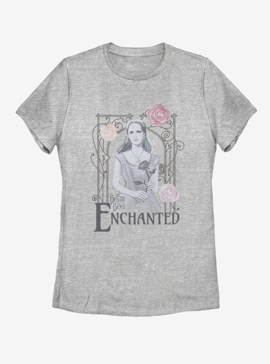 Disney Beauty and The Beast Enchanted Womens T-Shirt