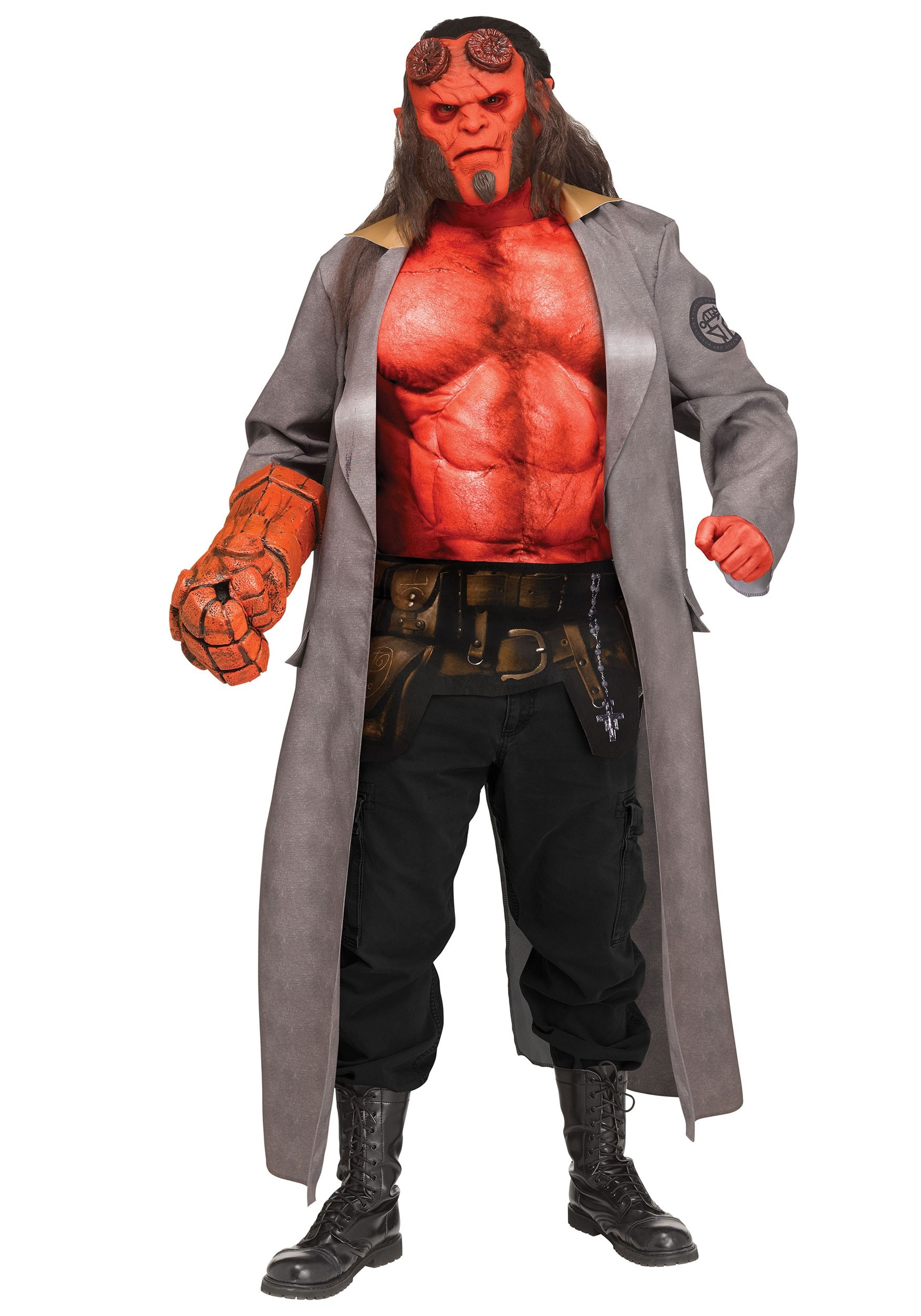 Adult Hellboy Costume from Hellboy (2019)