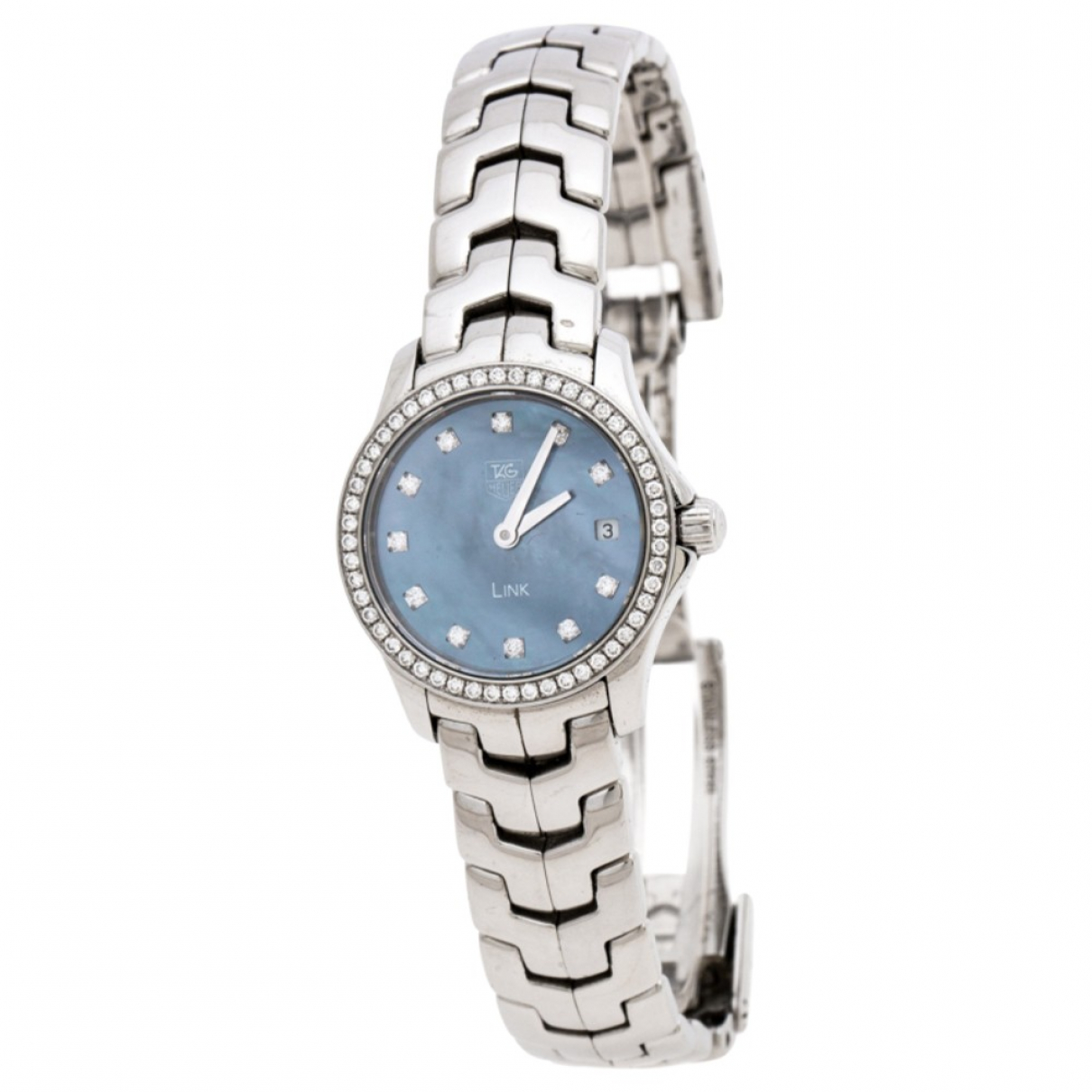 Tag Heuer Link Lady Blue Steel watch for Women \N