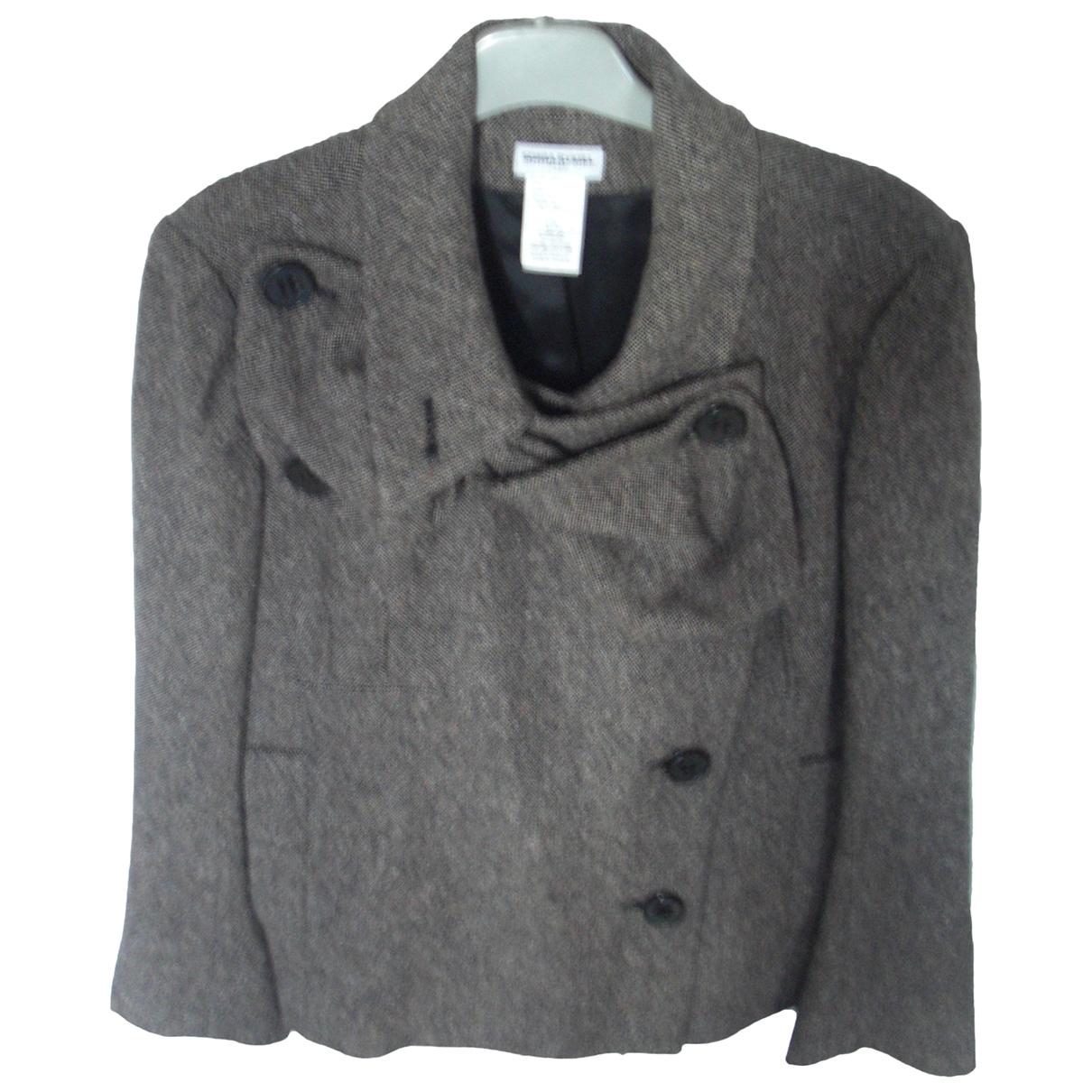 Sonia Rykiel - Veste   pour femme en laine - marron