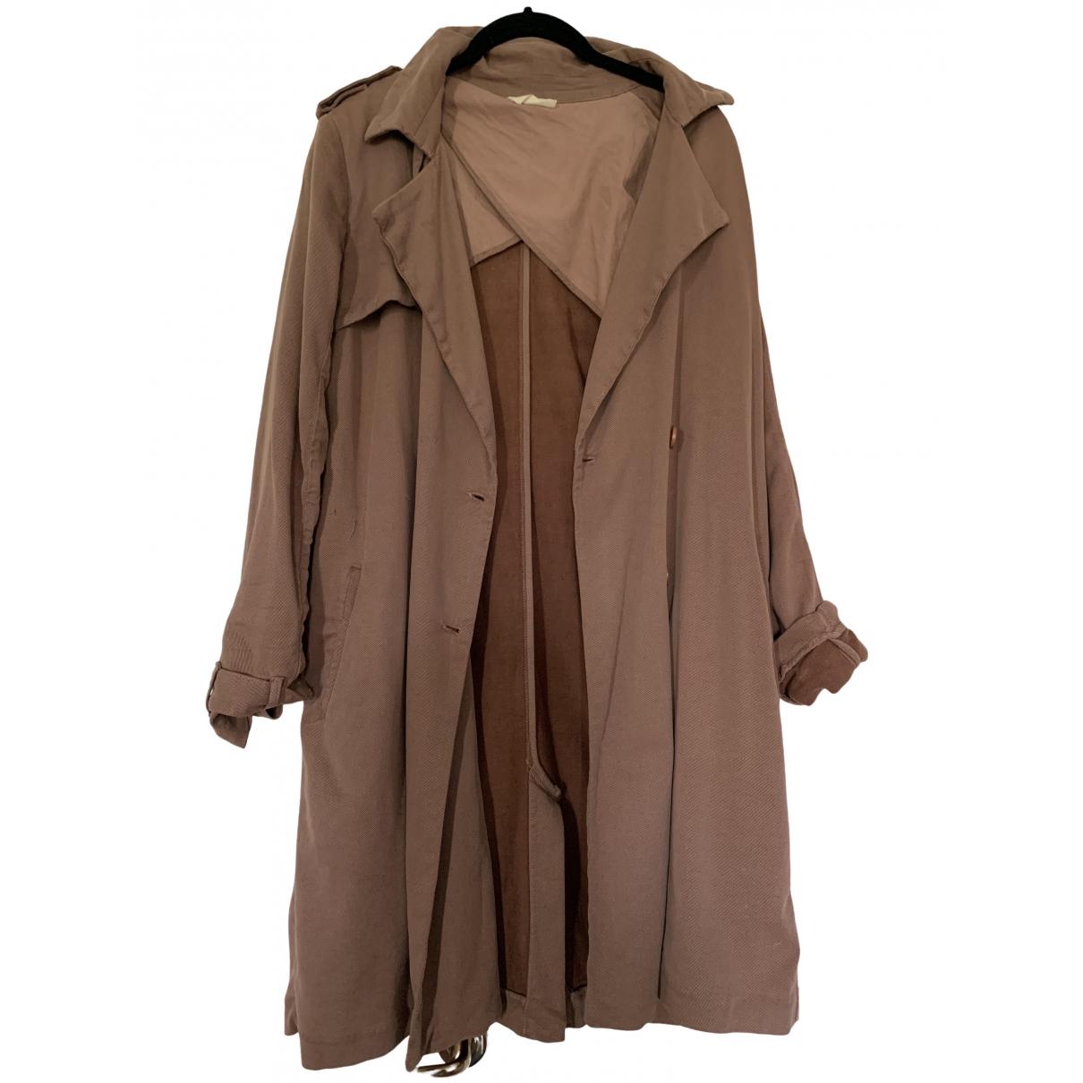 American Vintage \N Brown Trench coat for Women 38 FR