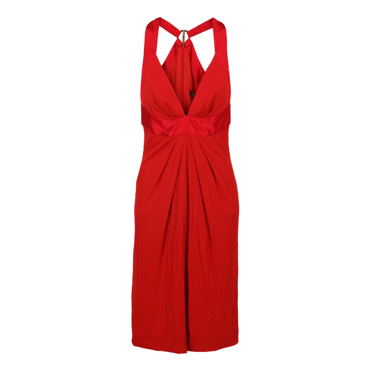 Roberto Cavalli \N Kleid in  Rot Synthetik