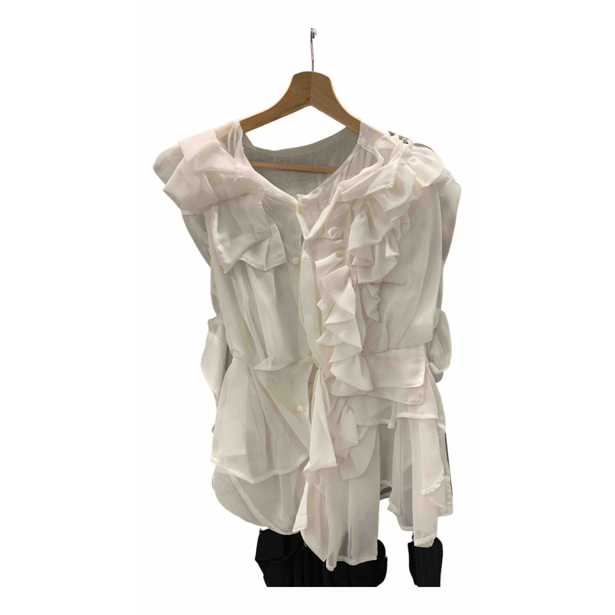 Comme Des Garcons \N White  top for Women S International