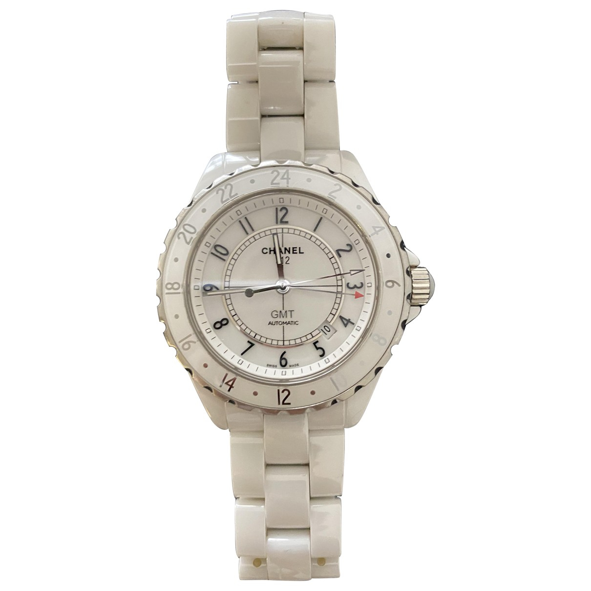 Chanel J12 Automatique White Ceramic watch for Women N