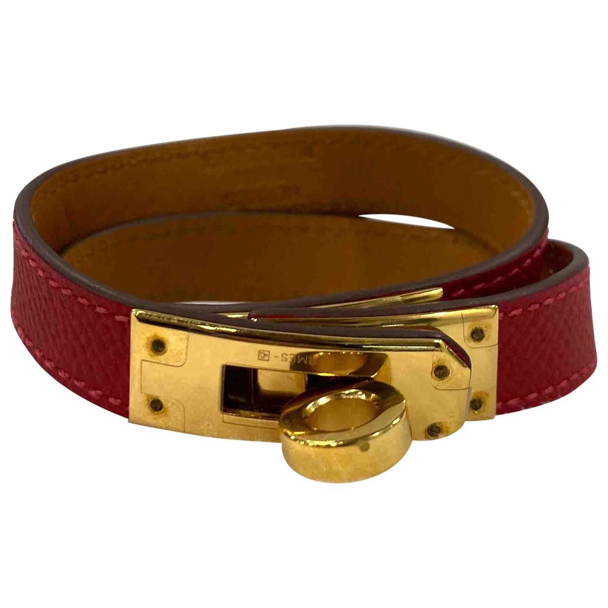 Hermes - Bracelet Kelly Double Tour pour femme en cuir