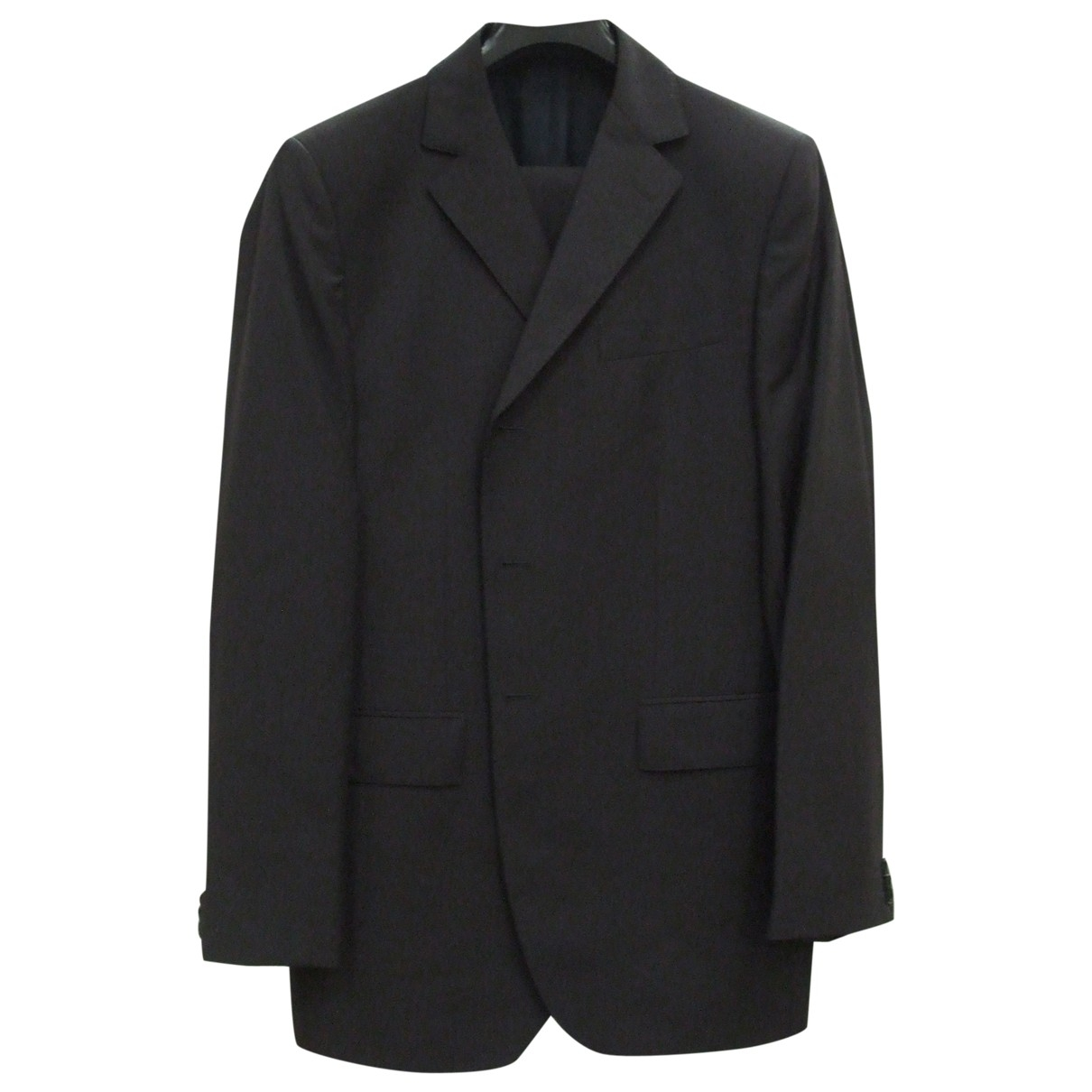 Non Signé / Unsigned \N Grey Suits for Men 36 UK - US